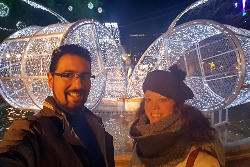 mapaymochila en Toulouse en Navidad