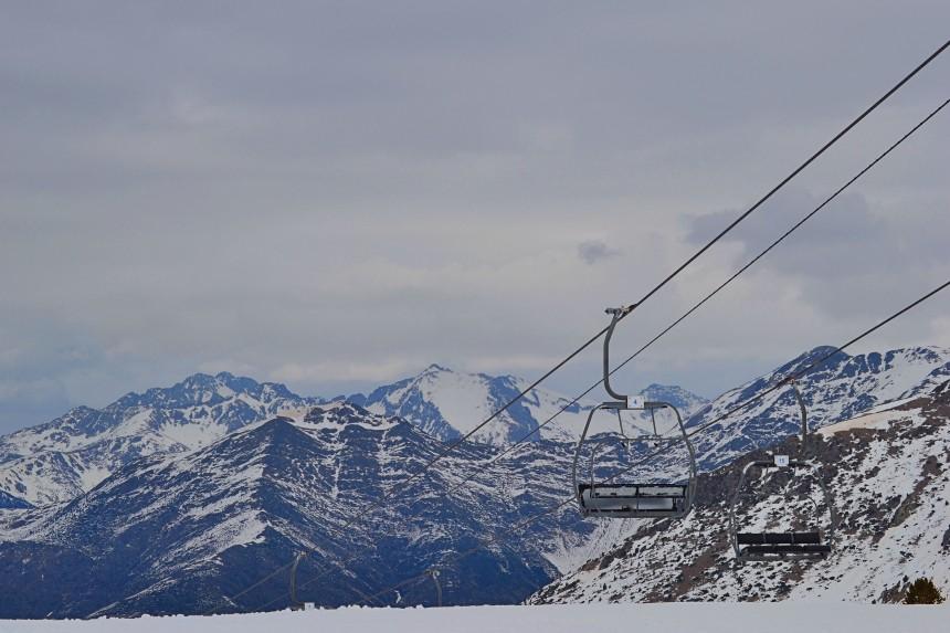 Boí Taüll, estación de esquí en el Pirineo catalán
