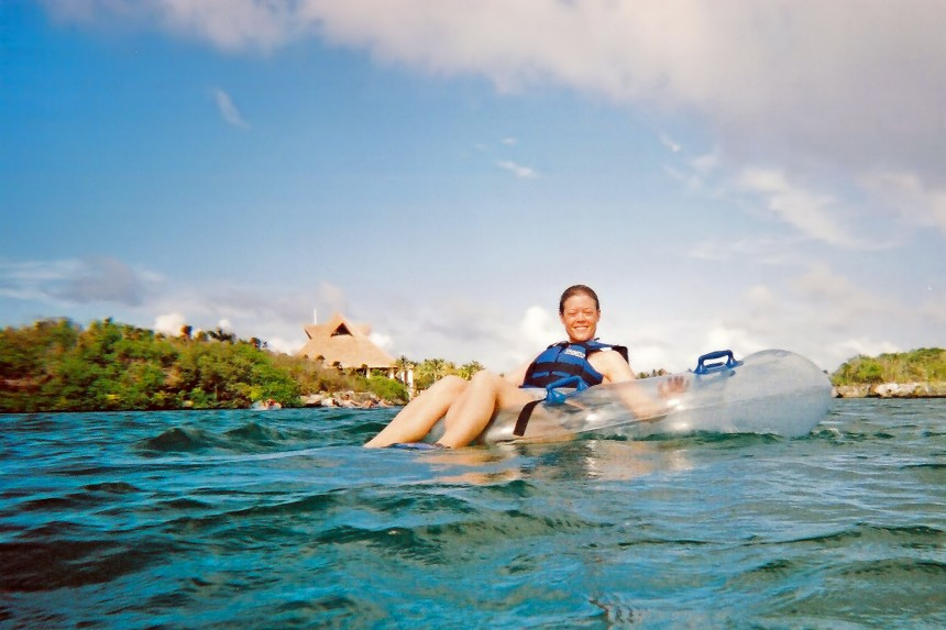 actividades acuáticas en Xel-Há