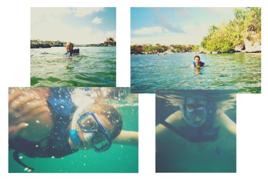 snorkel en Xel-Há
