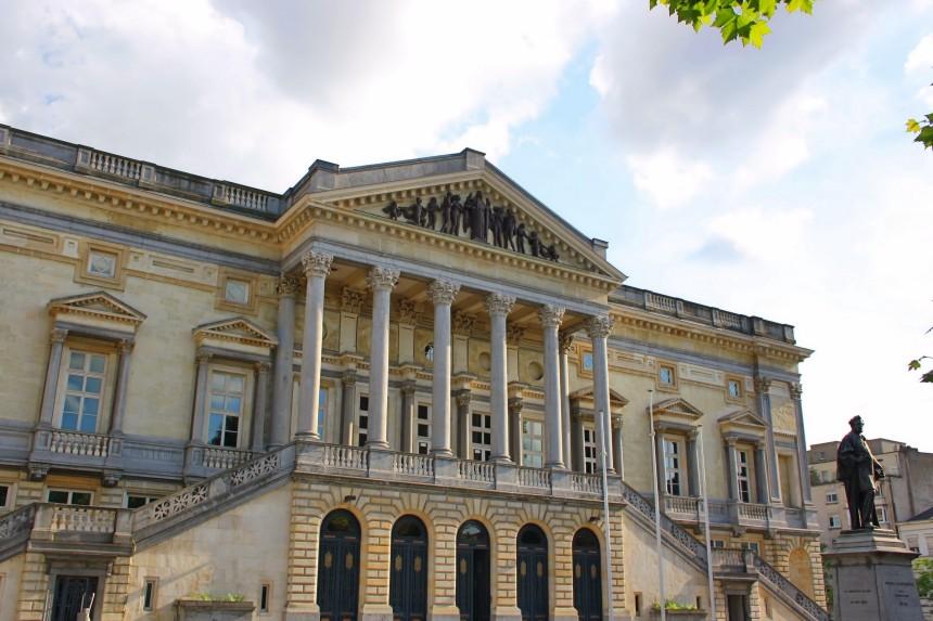 antiguo palacio de justicia de Gante