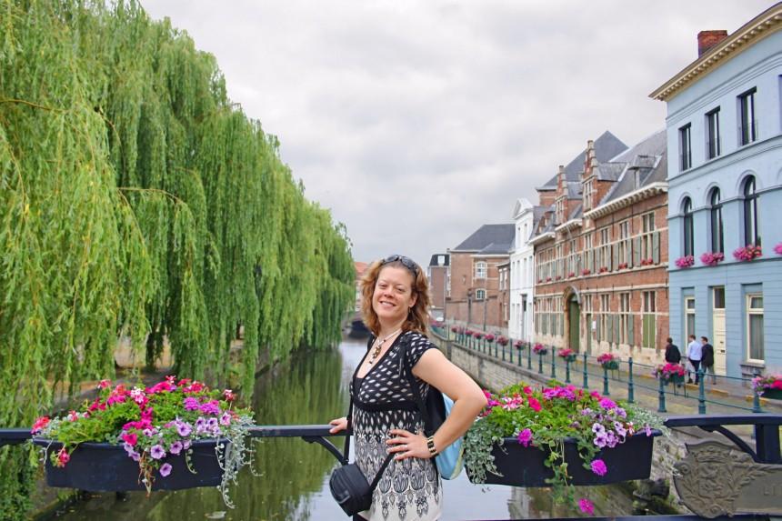 Canal Lieve en Gante