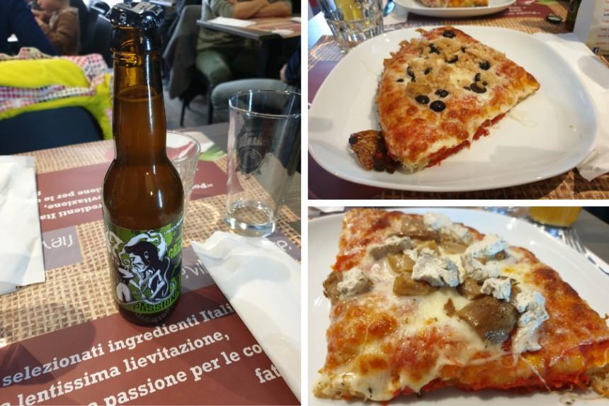 Pizzas en Lievito Madre de Vigevano