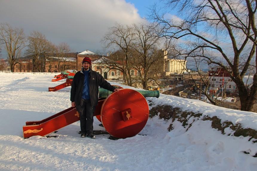 Oslo con nieve