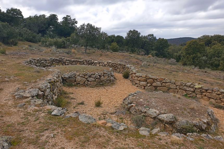 Túmulos en La Osera