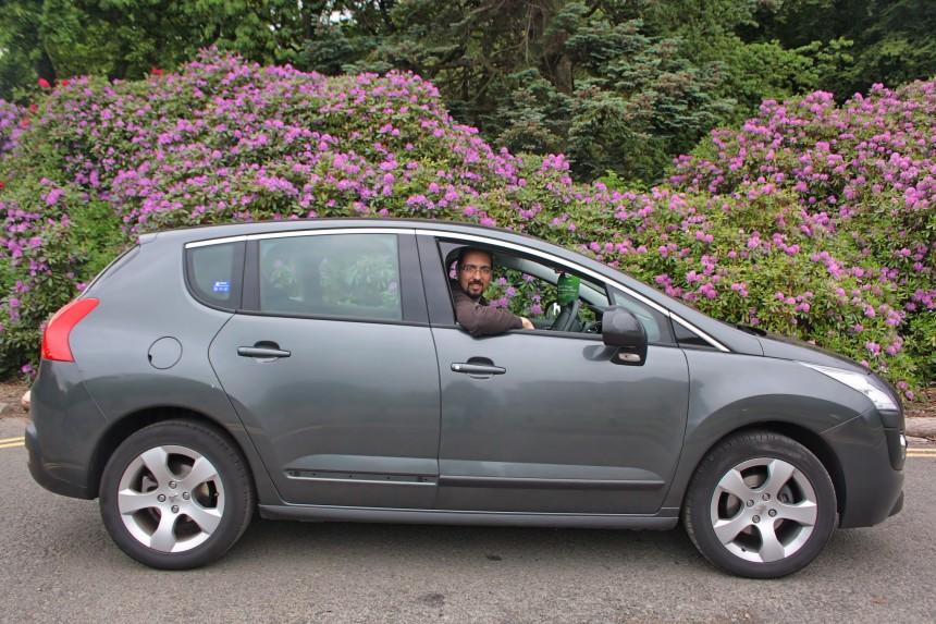 alquiler de coche en Edimburgo, revisa posibles daños