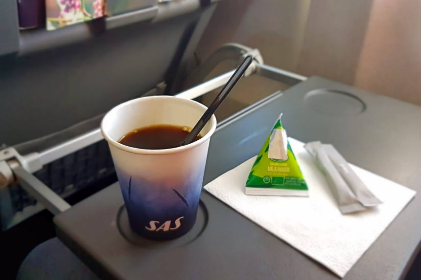 café volando con SAS