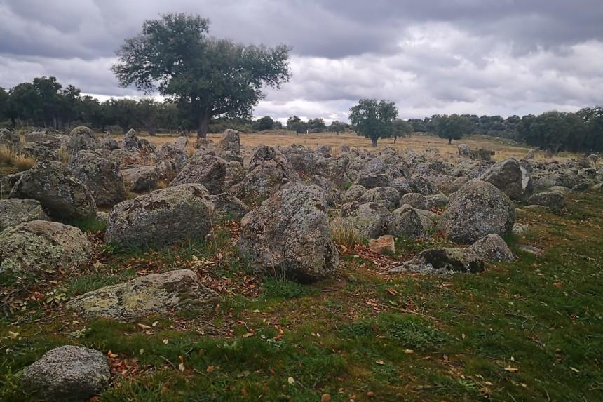 campo de piedras hincadas
