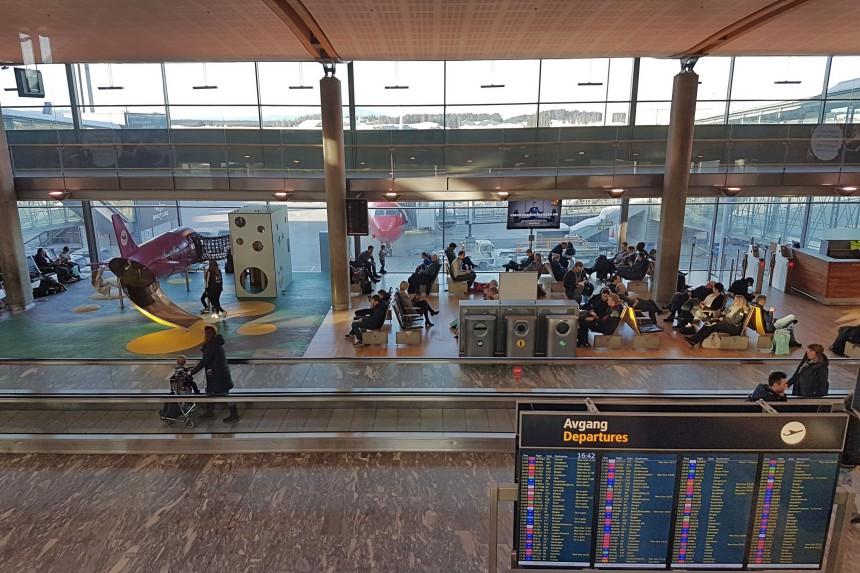 salidas del aeropuerto de Oslo