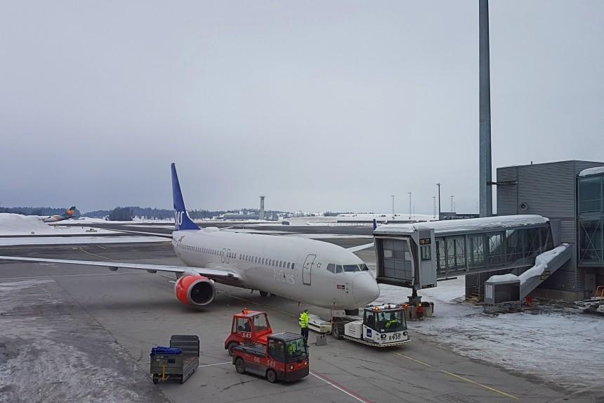 vuelo con SAS a Noruega Ártica