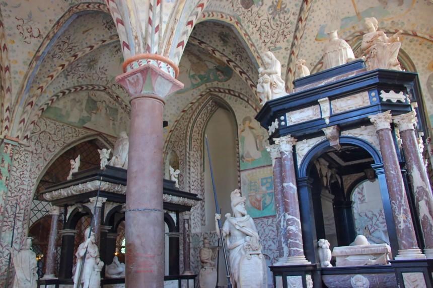 Capilla de los Reyes Magos en la Catedral de Roskilde