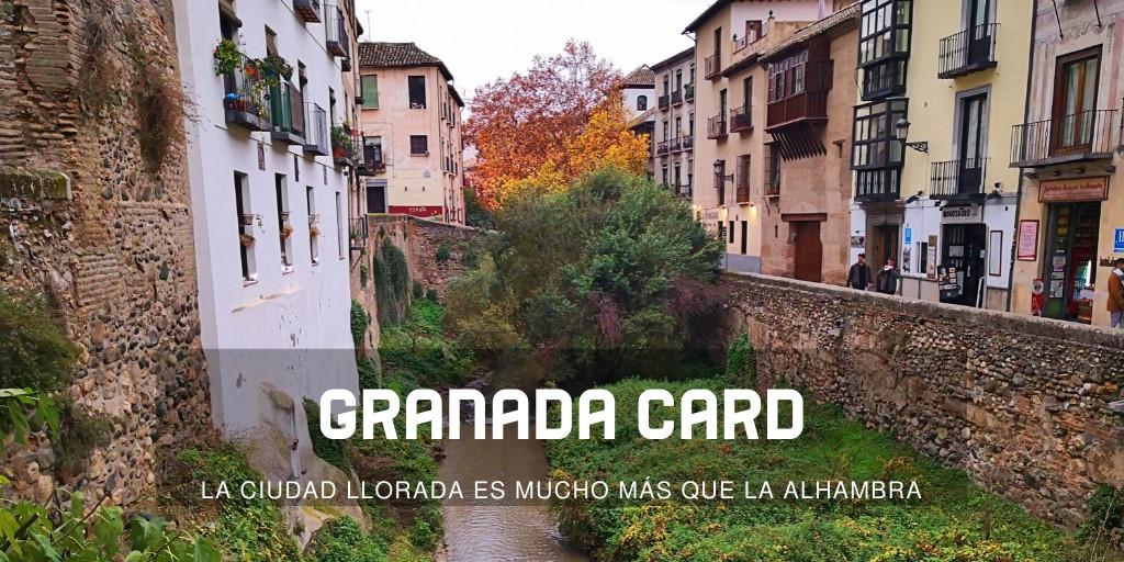 Información sobre la Granada Card ¿merece la pena?