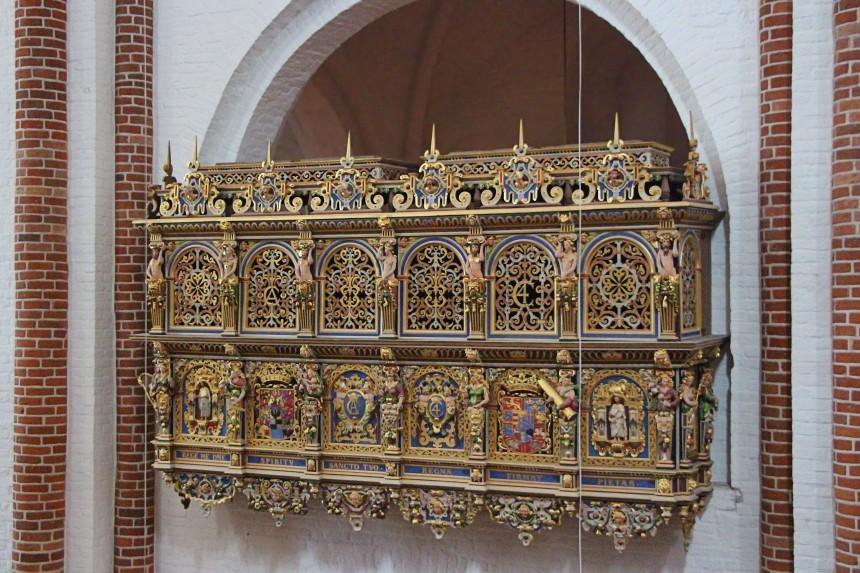 palco del rey Christian IV