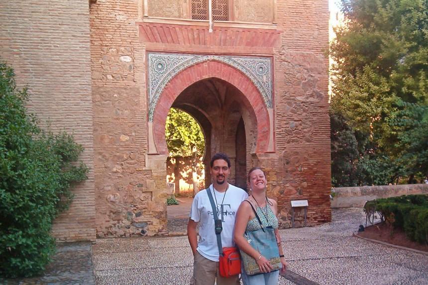puerta del vino de la Alhambra
