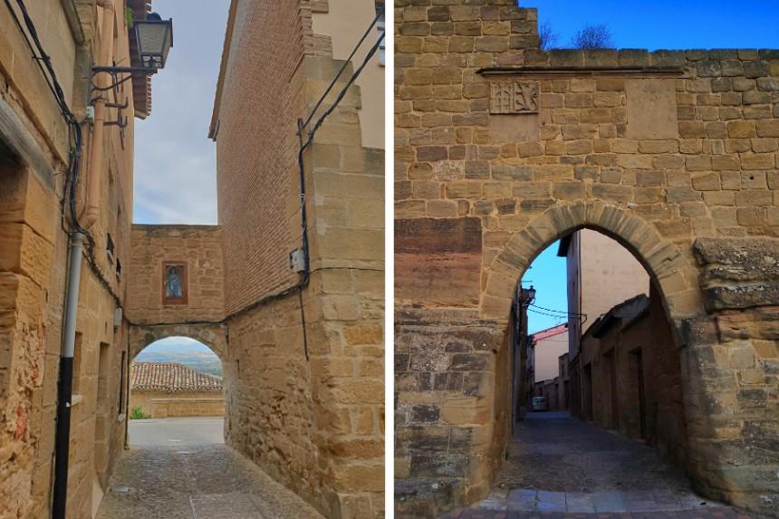 Puertas de la villa de Briones