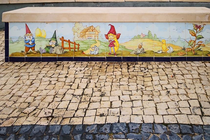 banco de azulejos