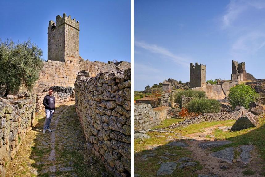 calles de la ciudadela medieval de Marialva