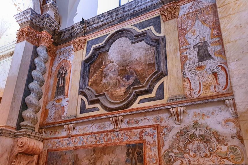 frescos del convento de San Juan de Dios