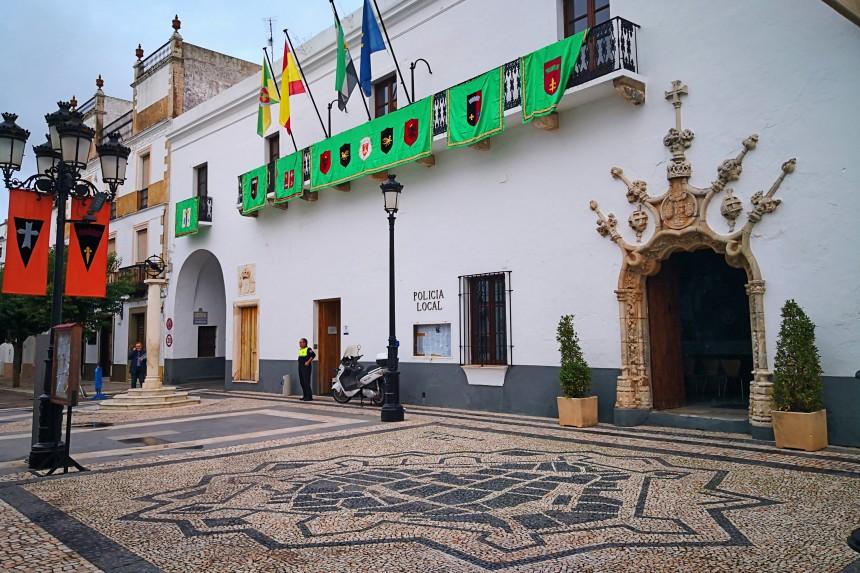 Plaza de la Constitución de Olivenza
