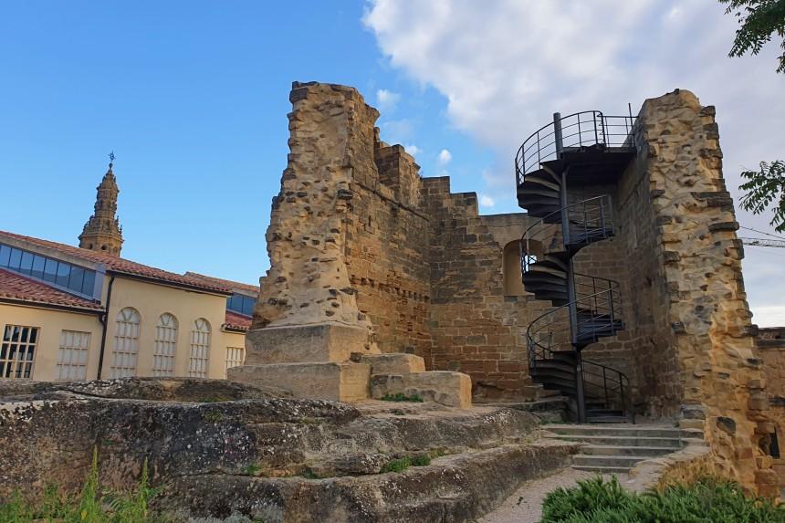 restos de la Torre de Homenaje del Castillo de Briones