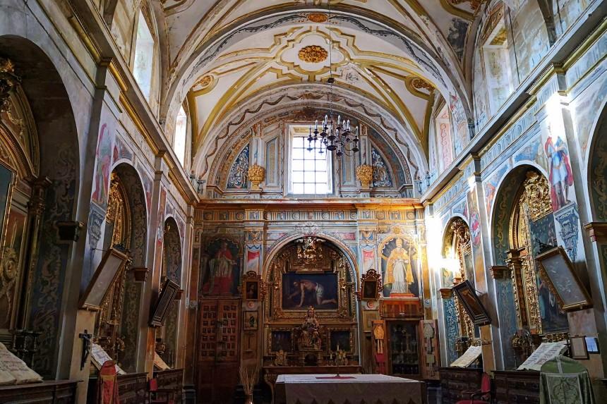 Sacristía de la Iglesia de Nuestra Señora de la Asunción