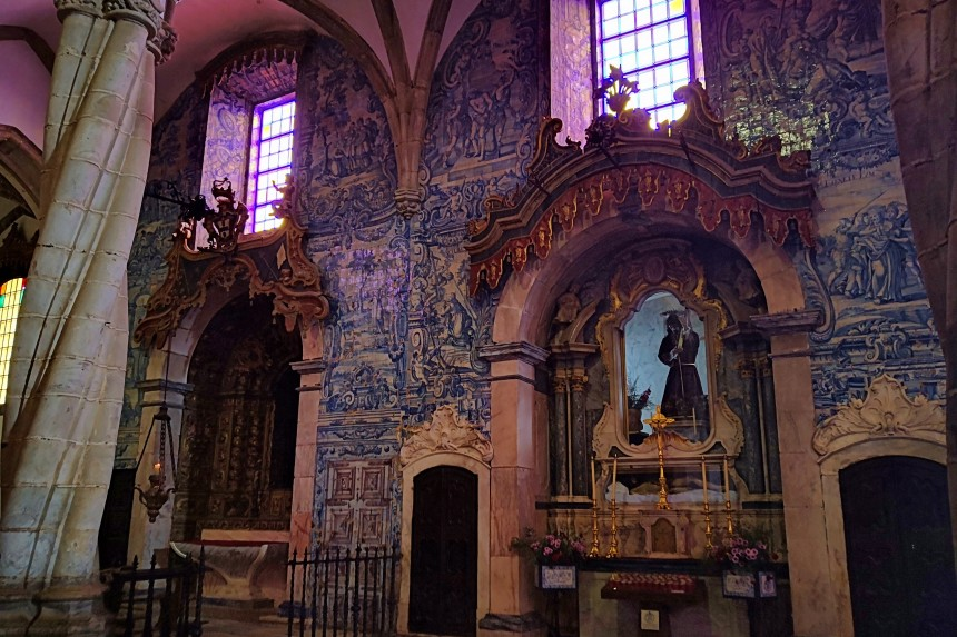 Imagen del señor de los pasos en la iglesia de Santa María