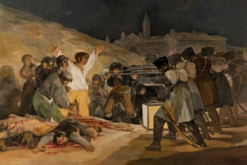 El 3 de mayo en Madrid (Los fusilamientos)