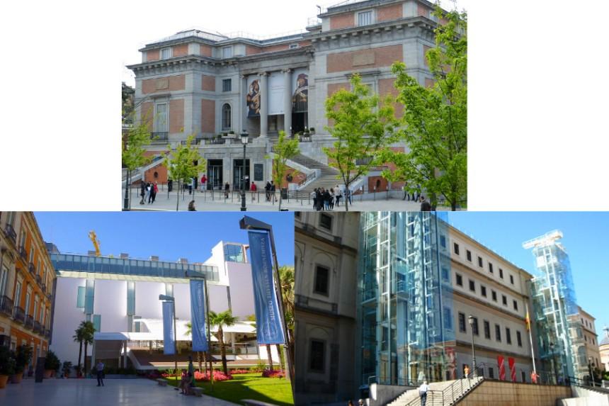 Triángulo del Arte en Madrid