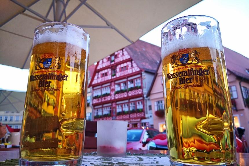 cerveza en Franconia