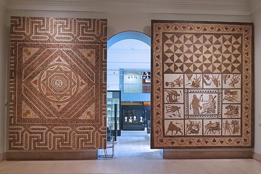 mosaicos del Museo Arqueológico Nacional