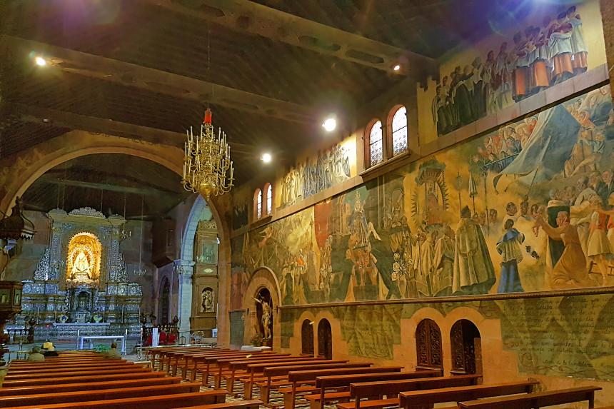 interior de la Iglesia de Santo Domingo de Guzmán