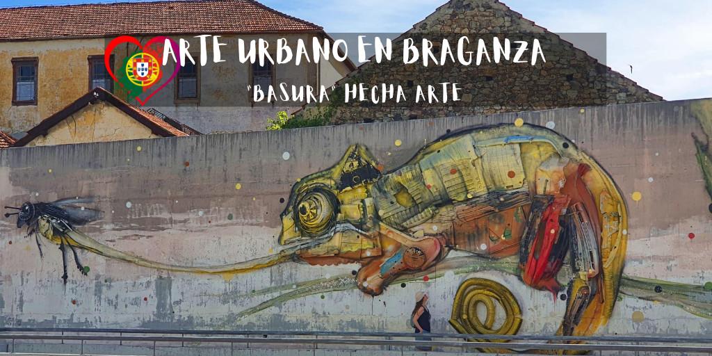 arte urbano en Braganza