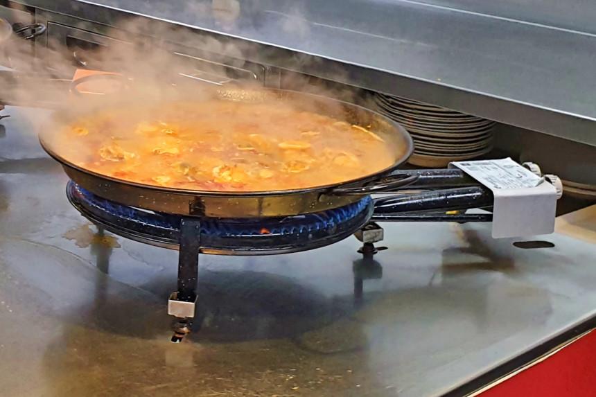 cocinar una autentica paella