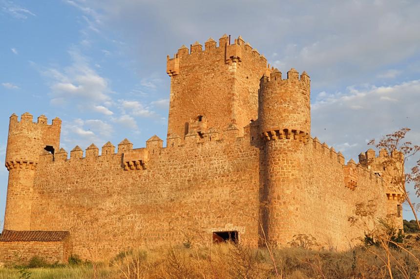 Fachada septentrional del Castillo de Guijosa