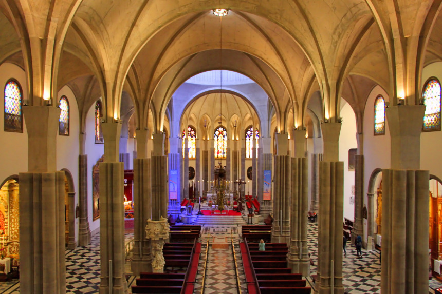 nave de la Catedral de La Laguna