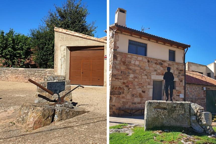Monumento al arado y homenaje al pastor