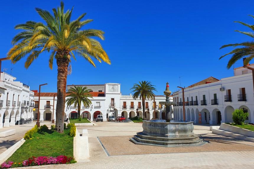 Plaza de España de Herrera del Duque