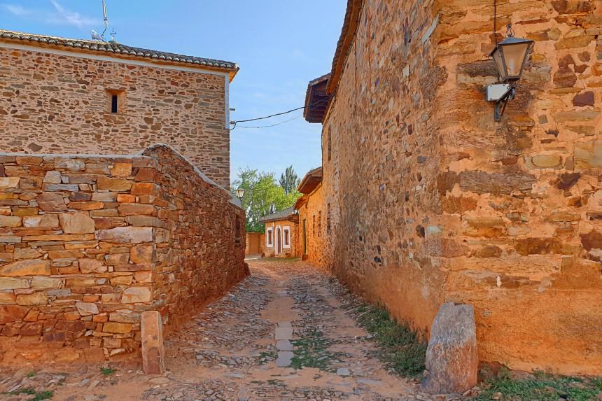 calles de Castrillo de los Polvazares