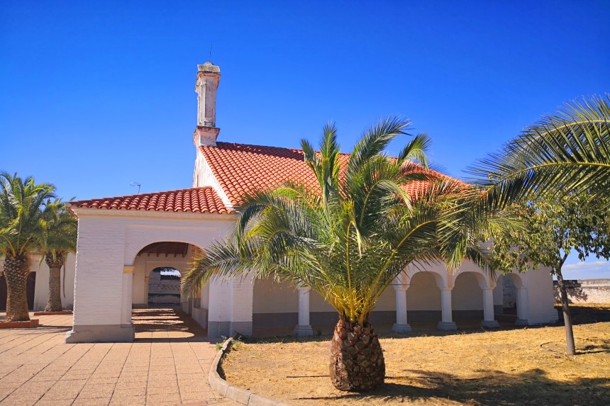 ermita de la Virgen Coronada en Talarrubias