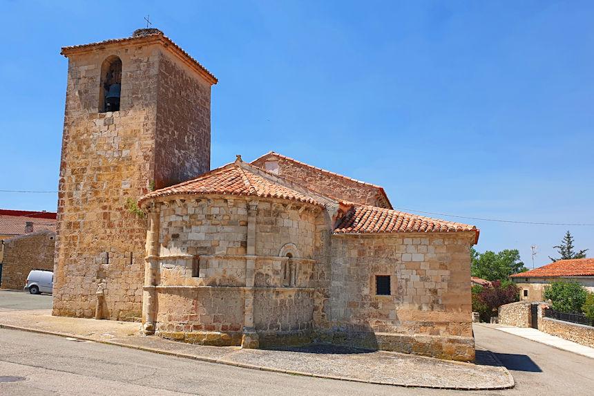 ábside de la iglesia de San Bartolomé de Campisábalos