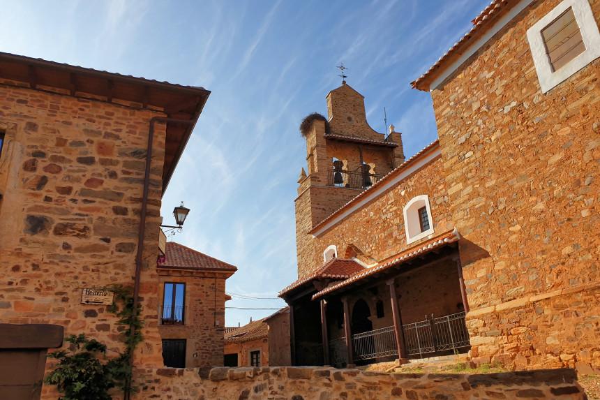 iglesia de Santa María Magdalena en Castrillo de los Polvazares
