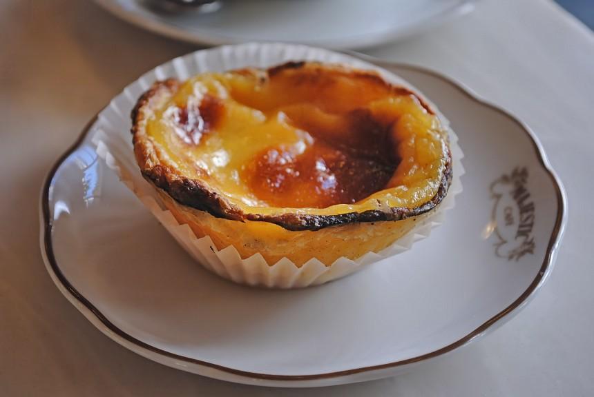 nata en el Café Majestic de Oporto