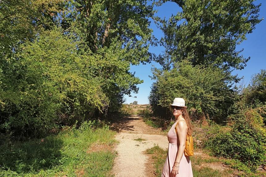 ruta hacia fuente Lizan