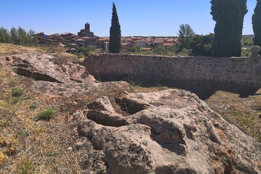 tumbas altomedievales de Romanillos