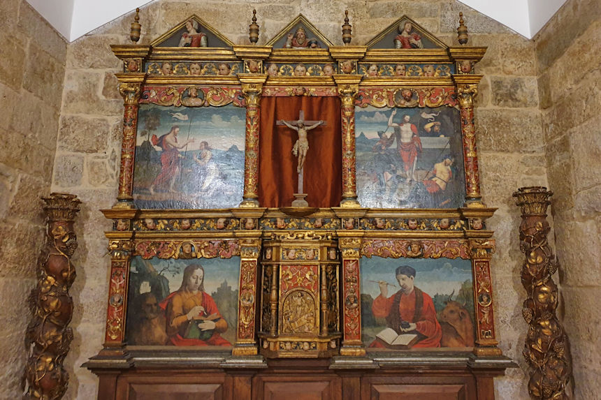 capilla del pazo de Castrelos
