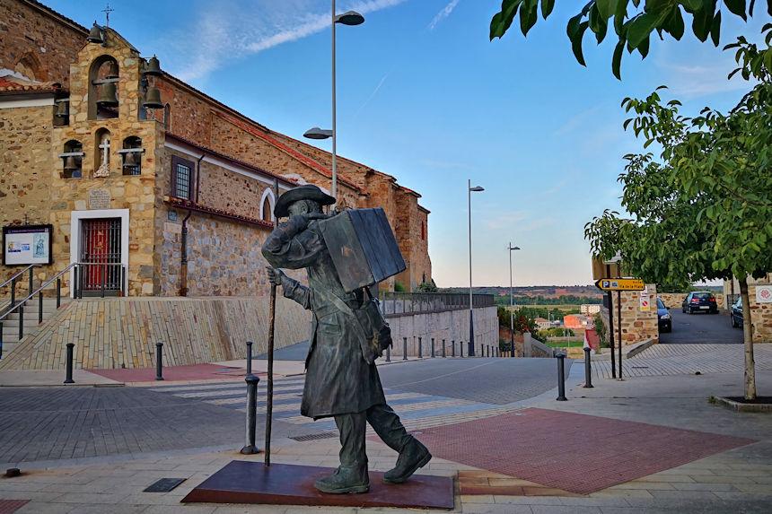 Estatua Quo Vadis en Astorga