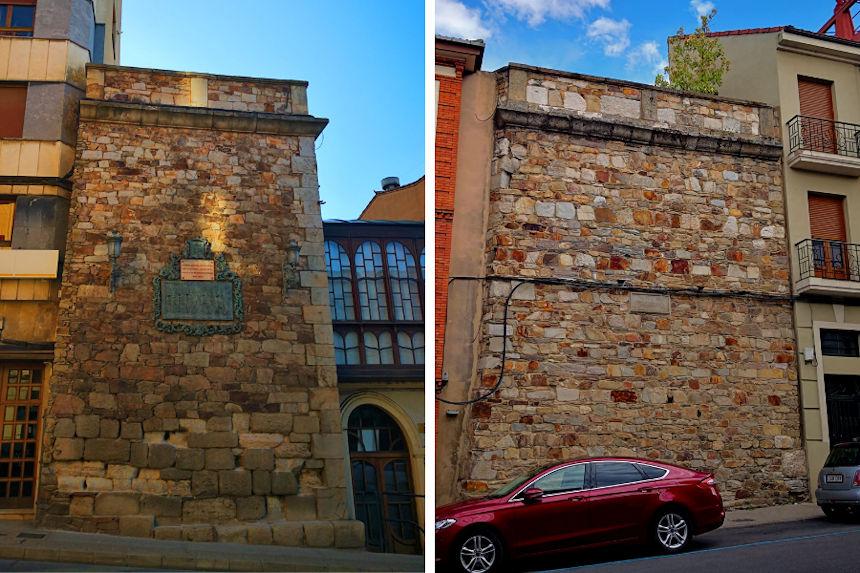 """""""La Brecha"""" en la muralla romana de Astorga"""