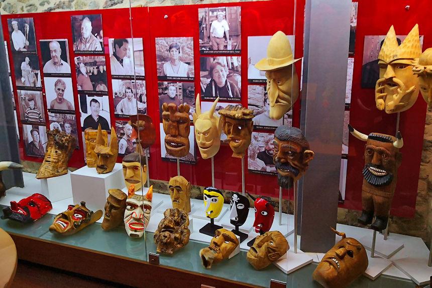 Máscaras del Museo Ibérico de las Máscaras y los Trajes