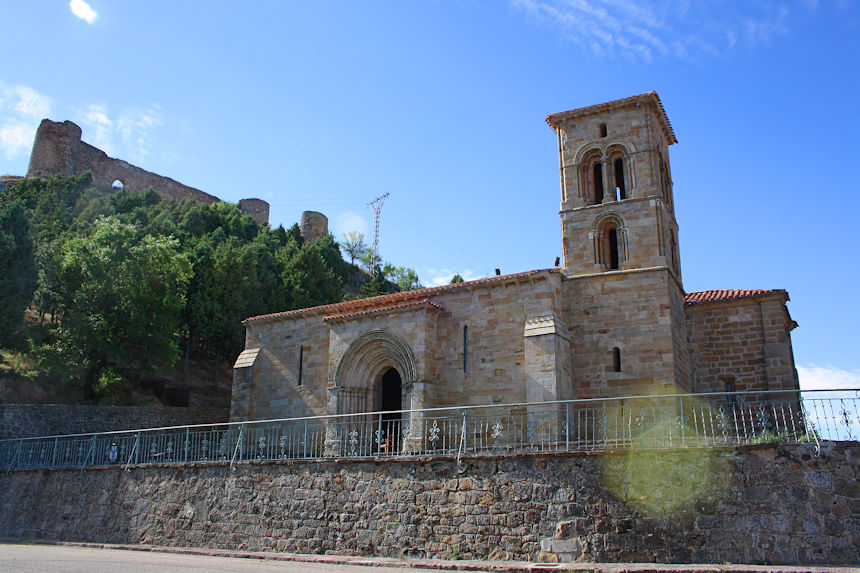 Románico en Aguilar de Campoo - Ermita de Santa Cecilia