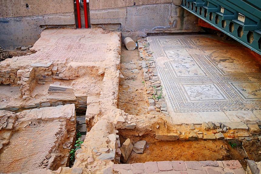 Ruta Romana de Astorga - Casa del Mosaico del Oso y los Pájaros